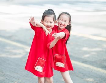 魔发妹-小红裙1