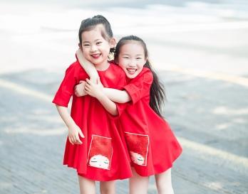 魔发妹-小红裙3