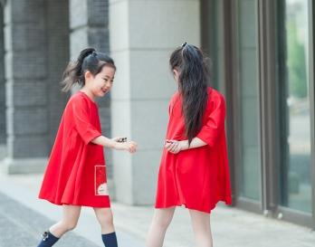 魔发妹-小红裙4