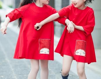 魔发妹-小红裙5
