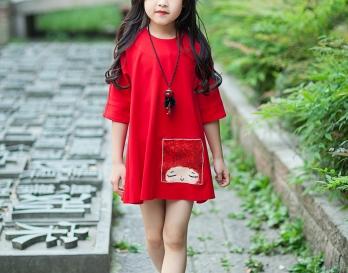 魔发妹-小红裙6