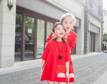 魔发妹-小红裙8