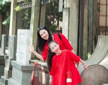 魔发妹-小红裙11